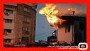 مهار آتش سوزی منزل مسکونی در علی آباد رشت/آتش نشانی رشت