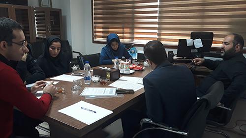 بر گزاری جلسه بررسی سامانه مهندسی و مدیریت نظارت بر ساخت و سازها