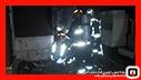 اطفای آتش سوزی در طبقه چهارم فروشگاه مبلمان در رشت/ آتش نشانی رشت