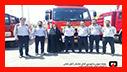 بازدید سر زده فاطمه شیرزاد رییس کمیسیون فرهنگی اجتماعی شورای اسلامی شهر رشت از ایستگاه آتش نشانی در مسکن مهر رشت